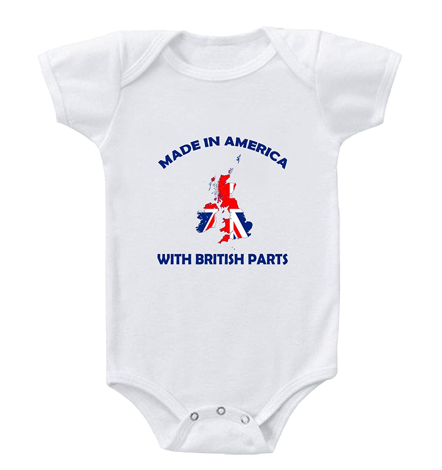 Amazon Made In America With British Parts Baby Bodysuit e