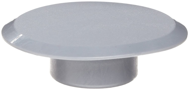 Kapsto 340 SW 17 Polyethylene Cover Poppelman Plastics 34001700000 Grey 36.5 mm Tube OD Pack of 100