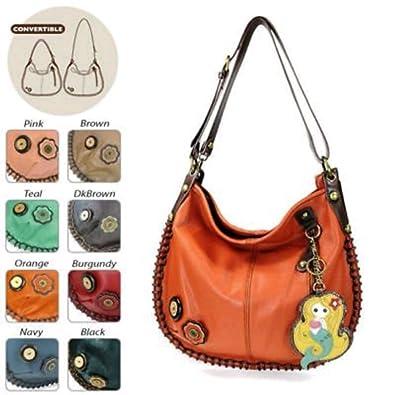 b335763b22 Amazon.com  Charming Hobo Crossbody - Mermaid (Orange)  Shoes