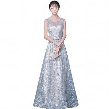 YT-ER Vestido de Noche de Banquete de Dama de Honor Vestido de Novia Elegante