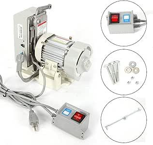 RanBB Motor de máquina de coser industrial, motor Servo sin ...
