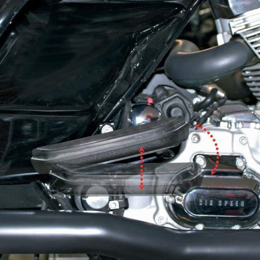 Baron Custom Passenger Floorboard Comfort Kit Fits 93-09 Harley FLT Tour Glide LA Choppers 4333035501 tr-422111