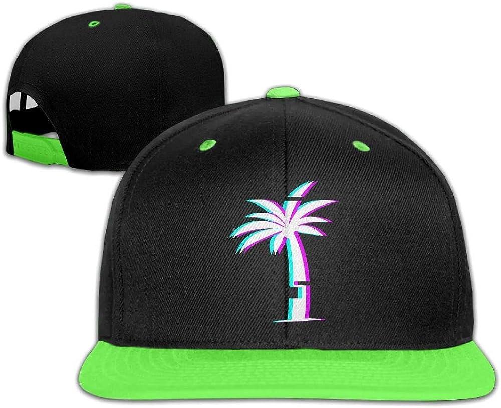 HERSTER Toddler Boys/&Girls Palm Tree Baseball Caps Trucker Flatbrim Caps