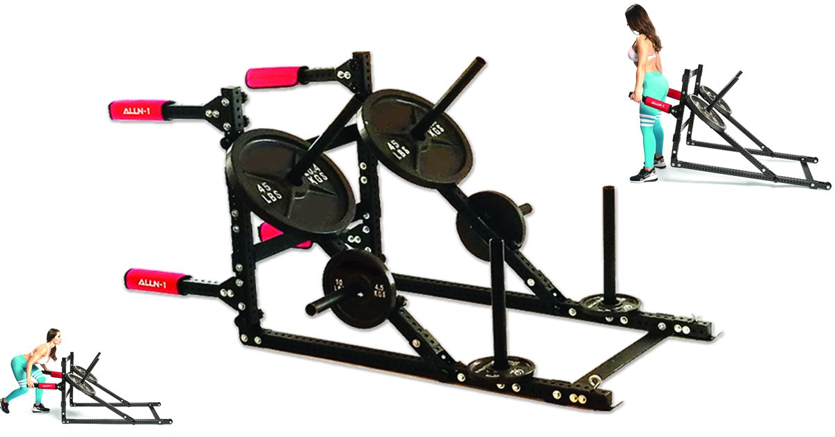 ALLN-1: Gladiator Power Sled (Push, Pull, Lift, HIIT Trainer)