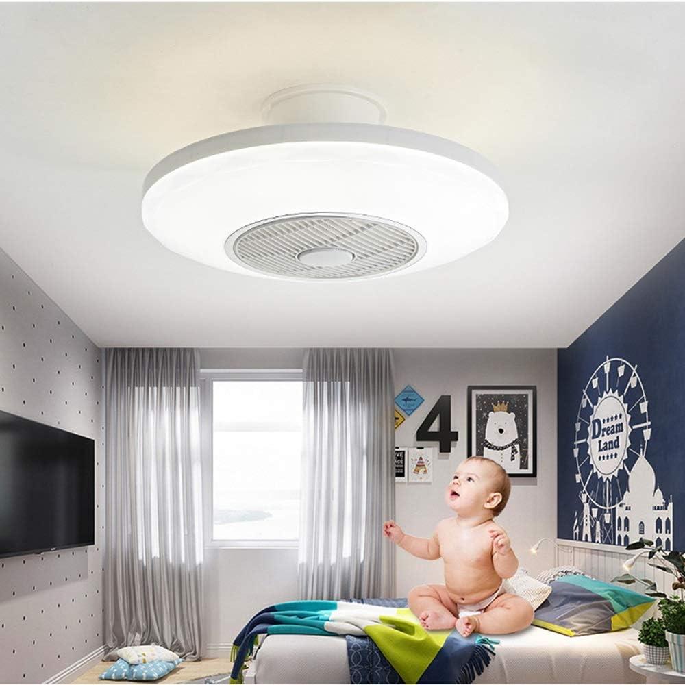 LED Creativo Ventilatore A Soffitto Illuminazione Con Telecomando Dimmerabile Fan Lampadario Ultra-silenzioso Ventilatori A Soffitto Con Lampada Soggiorno Moderno Camera Dei Bambini Illuminazione