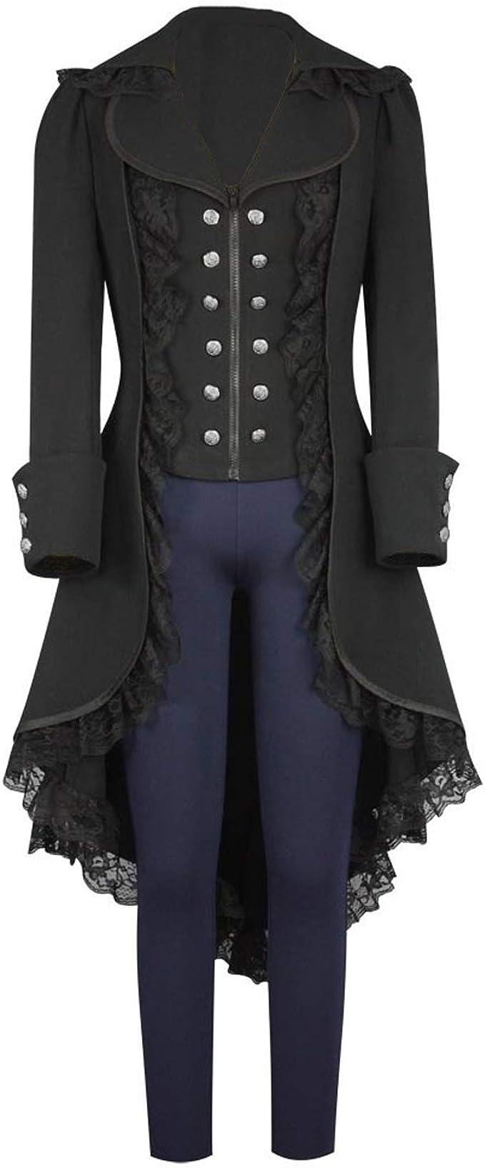 Amazon.com: Chaqueta para mujer, estilo gótico, estilo ...