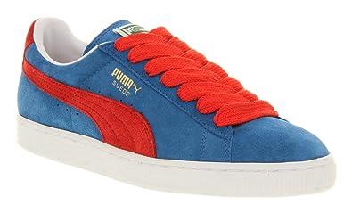 purchase cheap 3b23b 946da Puma Suede Classic Vallarta Blue Bittersweet Red - 8 Uk ...