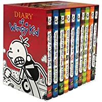 Diary of a Wimpy Kid Box of Books (Hardcover) (Books 1-10)