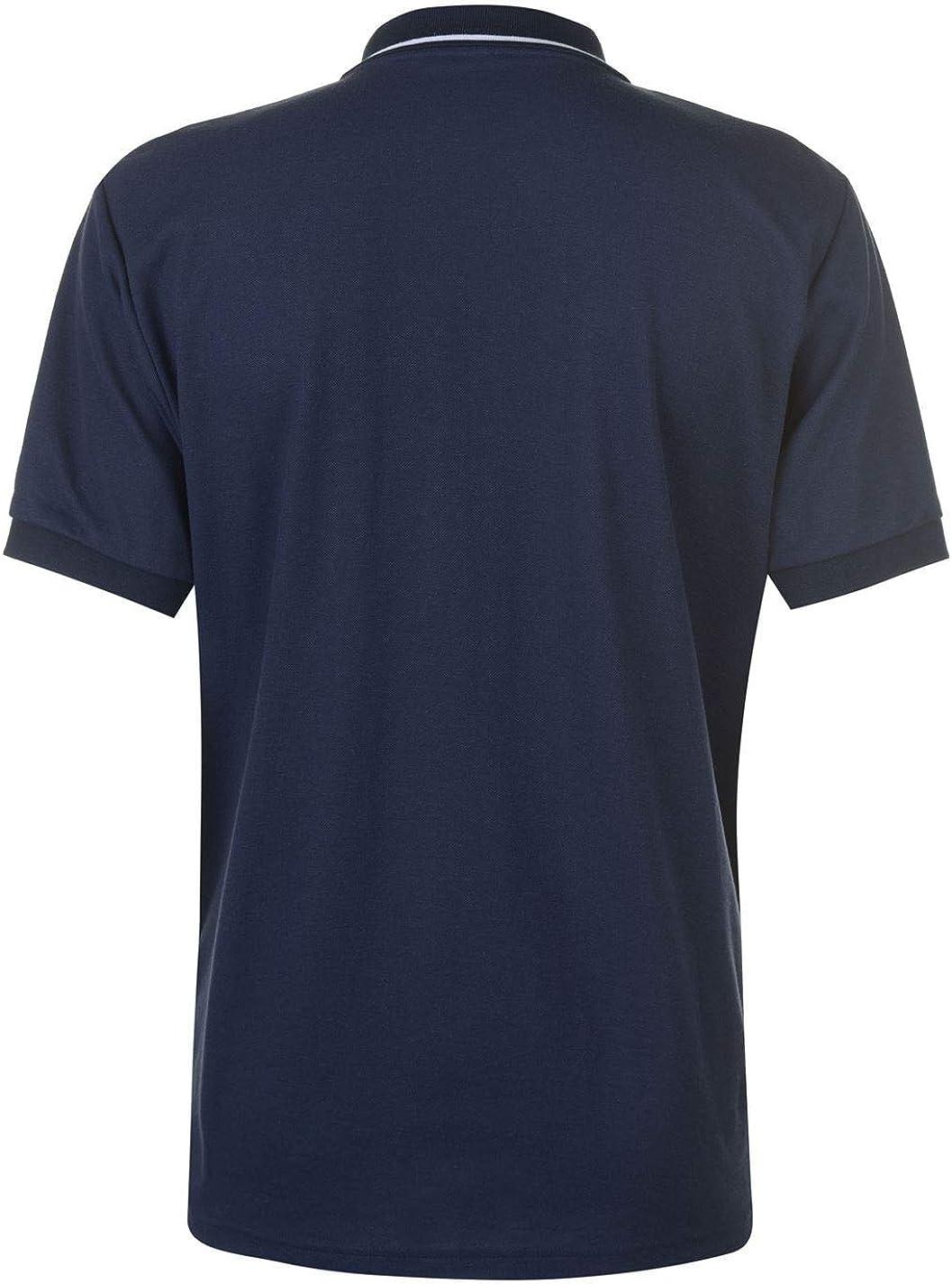 Tottenham Hotspur Crest Polo Shirt Mens Navy Football Soccer Fan Shirt Top Medium