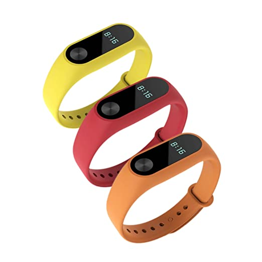114 opinioni per Awinner colorato impermeabile bande di ricambio per Xiaomi Mi Band
