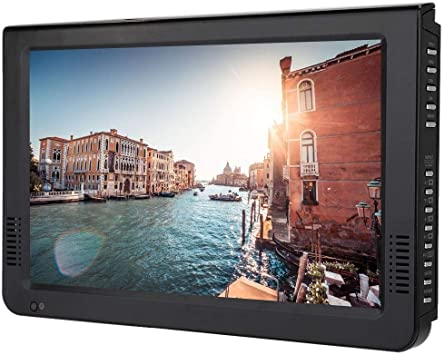 Televisor LED TFT portátil de 10.1 Pulgadas, HD 1080P 16: 9 TV ...