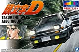 Aoshima 1/24 Pre-Painted Model No.SP Initial D Fujiwara Takumi AE86 Trueno Project D Ver. Model Kit(Japan Import)