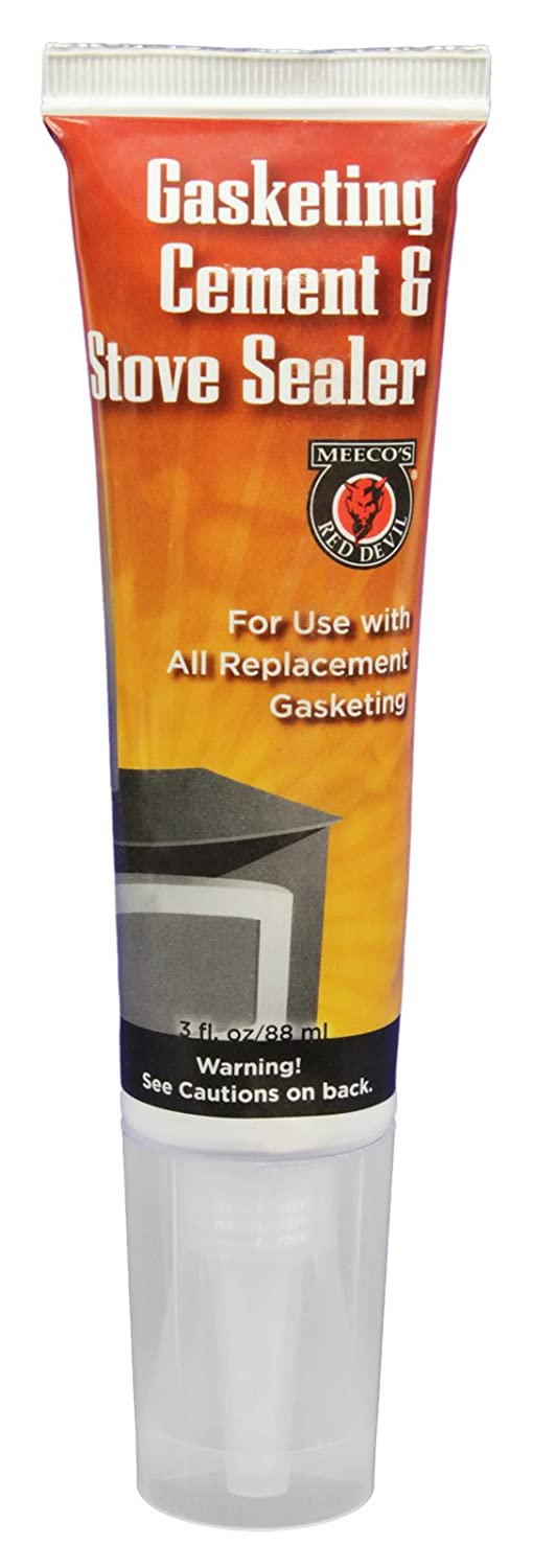 Amazon.com: MEECO'S RED DEVIL 110 Gasket Cement and Stove Sealer ...