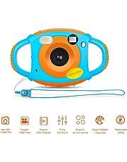 Cámara para Niños Camara Fotos Niños Cámara Digital HD para Niños 1.77 HD Color Pantalla 5 MP Digital Cámara Infantil