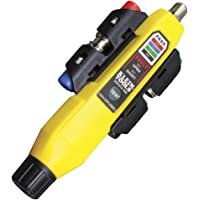Coax Explorer® 2 with Remote Kit, Tests coaxial cable and maps up to 4 locations, Klein Tools VDV512-101