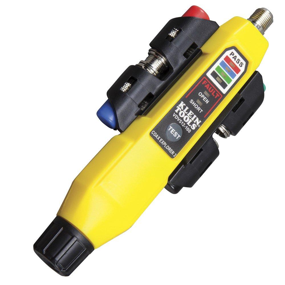 Klein Tools VDV512-101 - Explorador de coaxial (2 unidades, incluye mando a distancia)