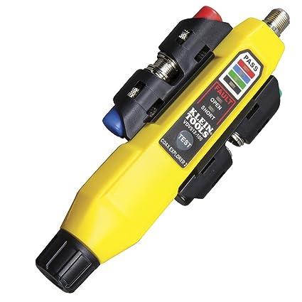 Klein Tools VDV512-101 - Explorador de coaxial (2 unidades, incluye mando a