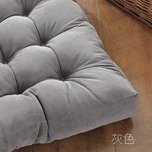 CCYYJJ Plush Futon Thickened Pure,Cushion,Meditation Mats,Simple Chair Cushion Tatami-A 55X11Cm (22 X 4 Inches) by CCYYJJ