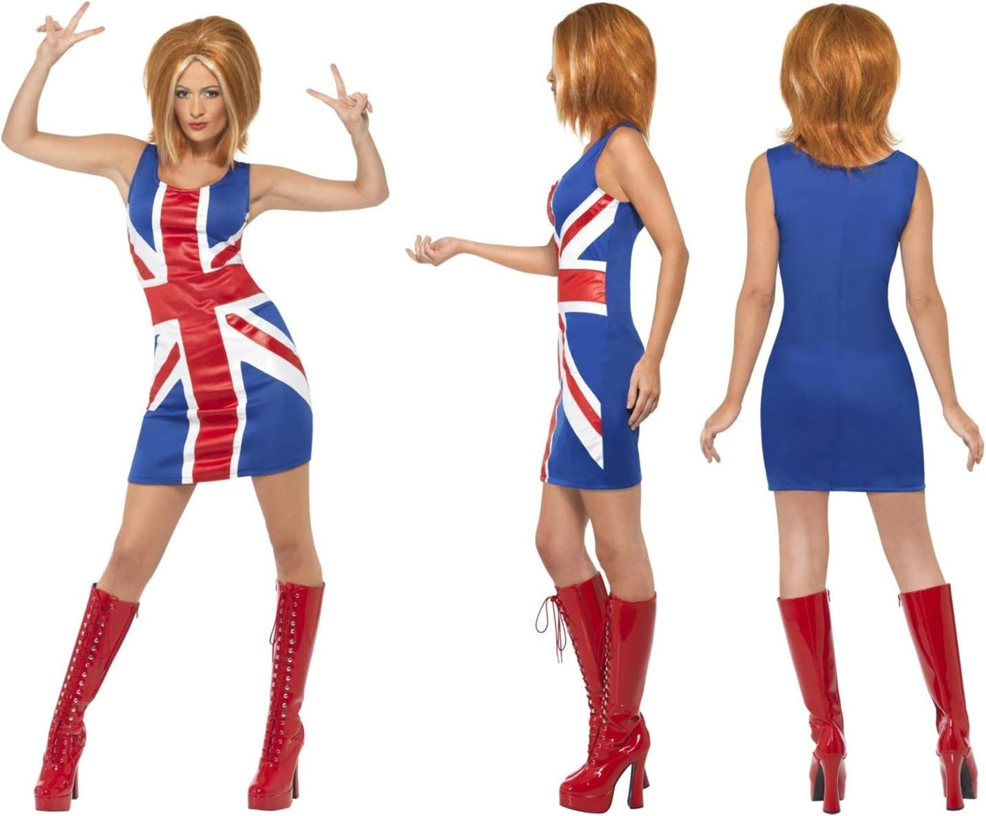Fancy Dress Four Less Disfraz de Power Geri para Mujer con diseño ...
