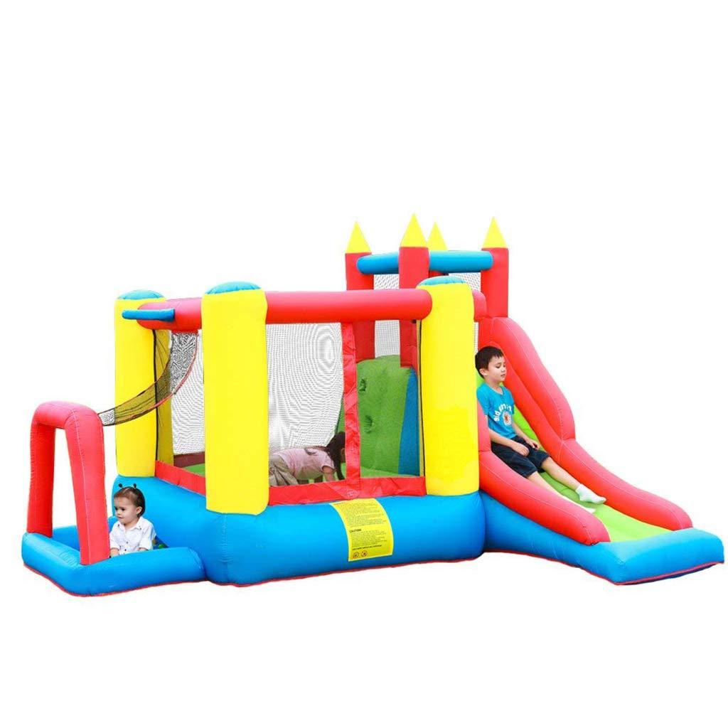 Wushuang Kinder Slide Jumping Bouncy Castle House Aufblasbares Schlaghaus Mit Luftgebläse