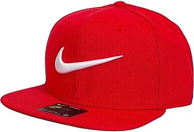 Nike Swoosh Pro-Blue Gorra Regulable de Tenis, Hombre, Rojo ...
