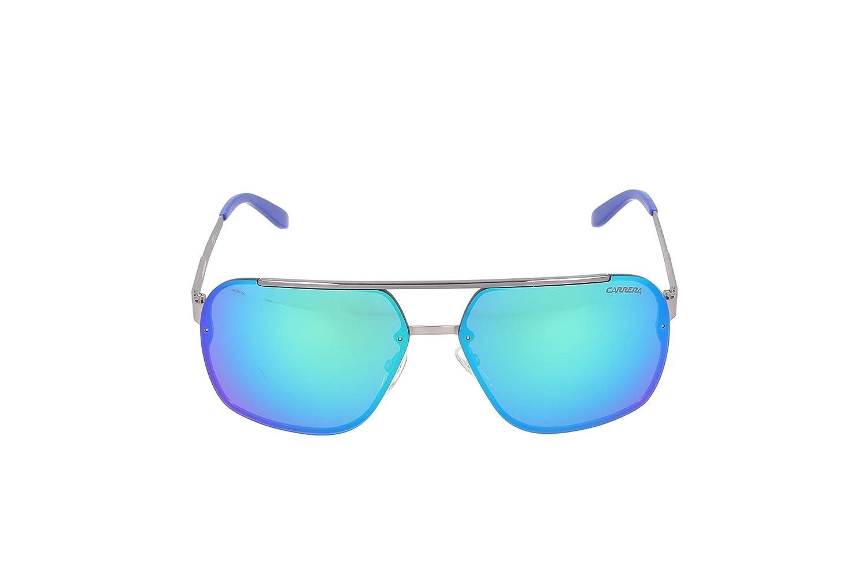 158a6ed22cbd Carrera CA91S Rectangular Sunglasses, Matte Ruthenium, 64 mm: Amazon.in:  Clothing & Accessories