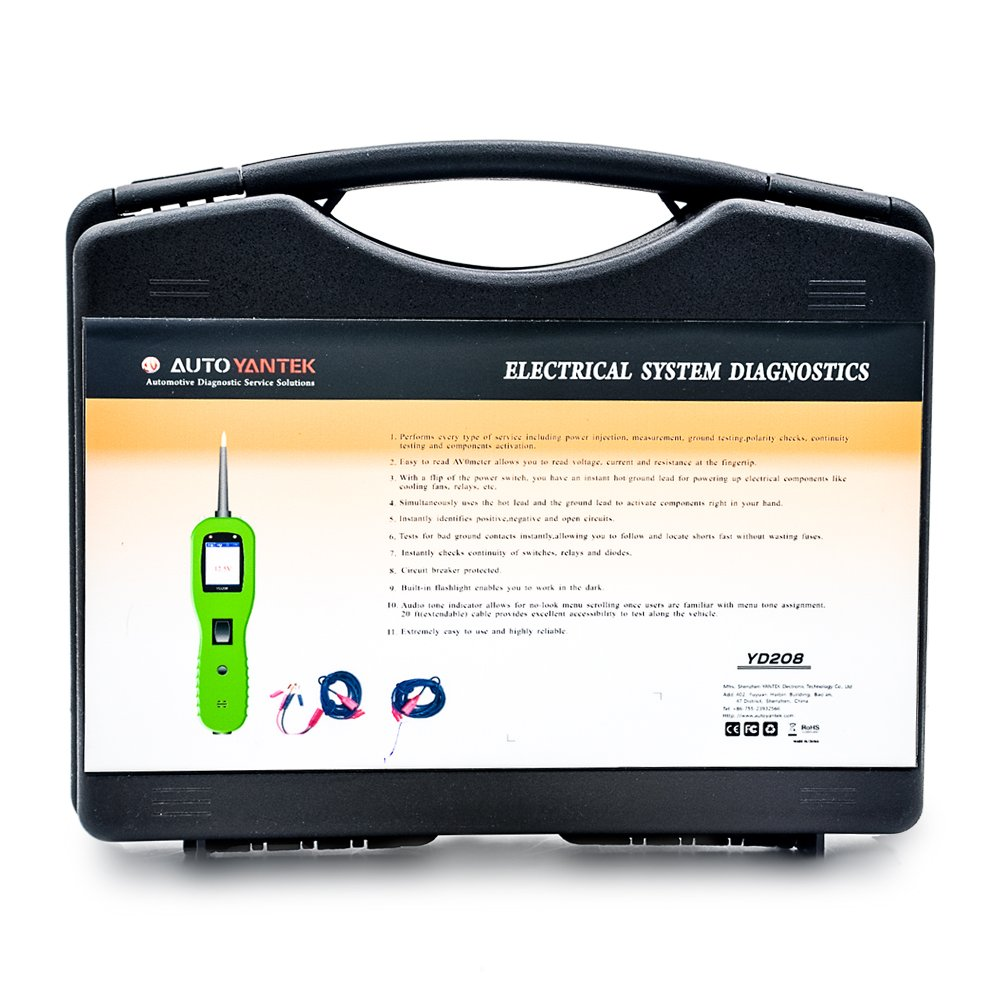 Borison AR208 Auto Electrical System Scanner Car Circuit Diagnostic Tester by Borison (Image #4)