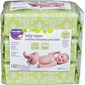 Babies R Us Sensitive Scented Wipes - 192 Count by Babies R Us