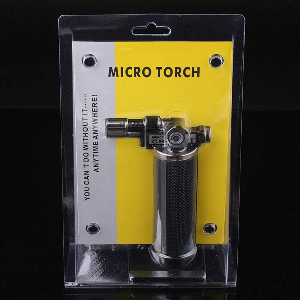 zhiwenCZW Micro Blow Torch Einstellbare Flamme Gold Silber Schwei/ßl/ötschmuckbrenner
