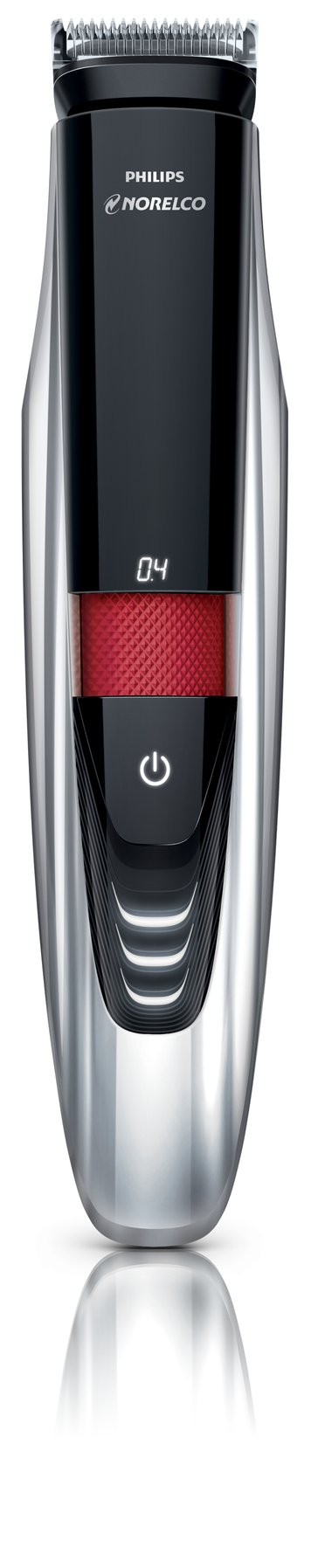 Philips Norelco BeardTrimmer 9100 with laser guide for beard stubble and mustache (Model # BT9285/41)