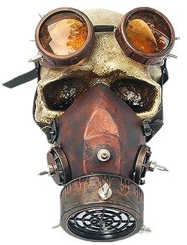 Máscara de Gas para Hombre y Mujer de la Familia Punk