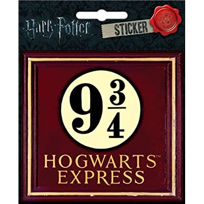"Ata-Boy Harry Potter 9 3/4 Hogwarts Express 4"" Full Color Sticker: Arts, Crafts & Sewing"