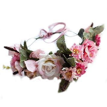 Frcolor Blumenkranz Blumenstirnband Boho Fur Festival Hochzeit