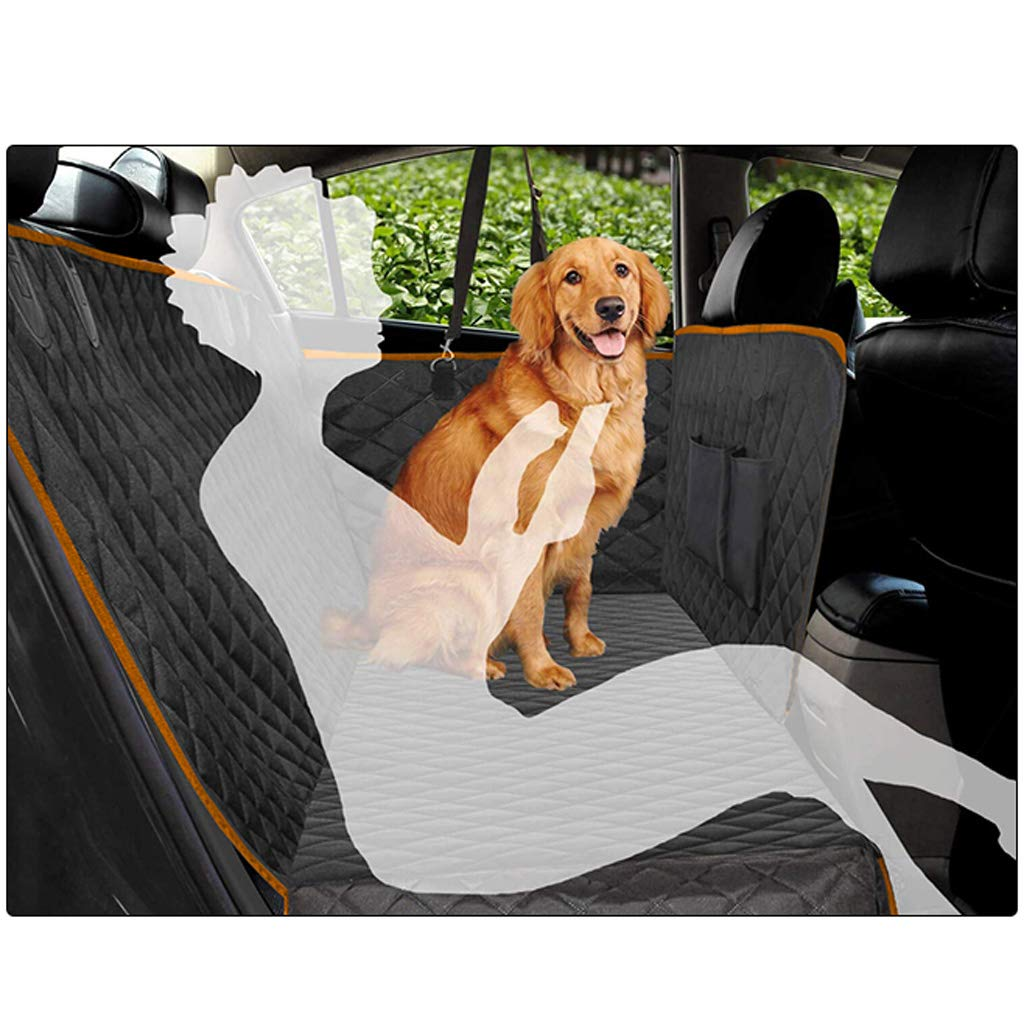 Pet car mat front seat rear seat anti-dirty safety seat car inside rear row waterproof and dirty dog cushion