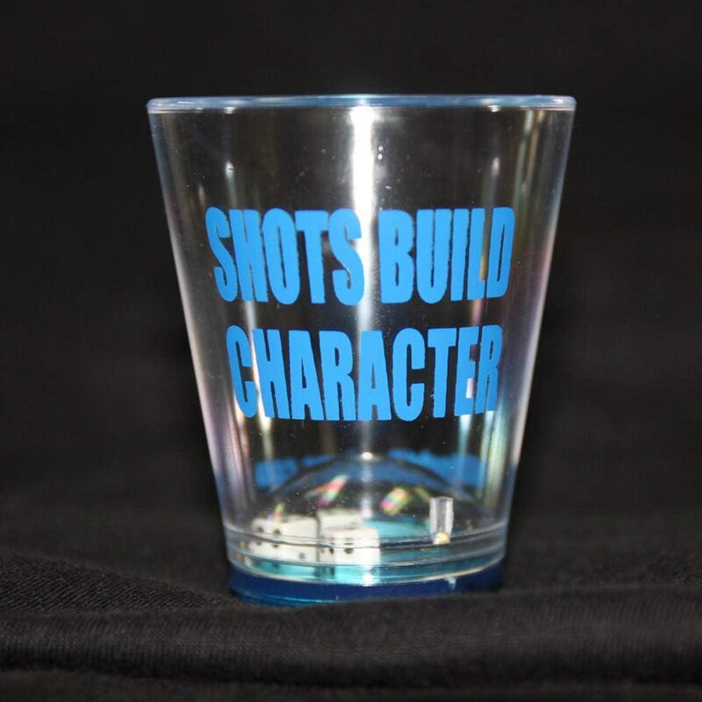 Amazon Com Offworld Designs Shots Build Character Dice Plastic Shot Glass Plastic Shot Glasses