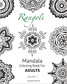 Buy Mandala Coloring Book For Adults Volume 1 Rangoli Online At Low Prices In India