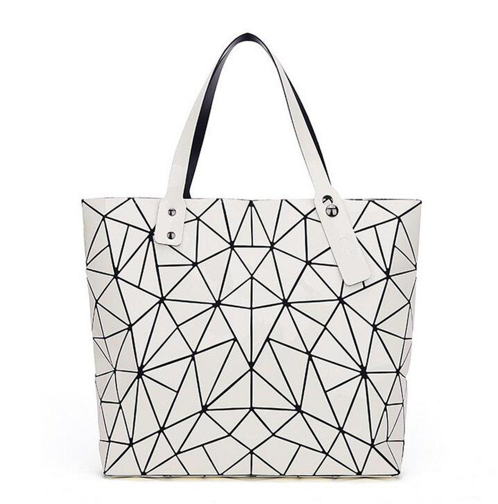 Vintage Women-Bag Style Geometry Irregular Triangle Bag Shoulder Bag Brand Logo Inside Casual Tote