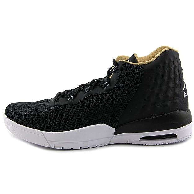 Nike Jordan Academy BG Chaussures de Basket-Ball, Homme, Gris, 38.5