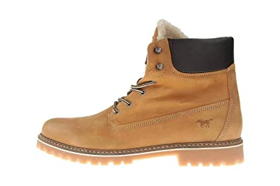 online store aeecd 7cb56 Mustang Shoes Boots in Übergrößen Braun 4875-601-3 große ...