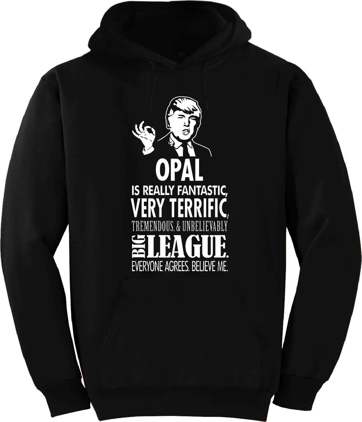 Buffthreads Opal Trump Big League Terrific Tshirt