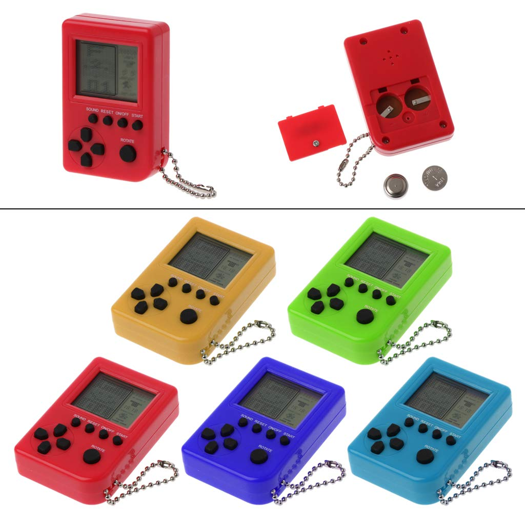 Amazon.com: MANGKE - Mini Handheld Tetris Built-in 26 Games ...