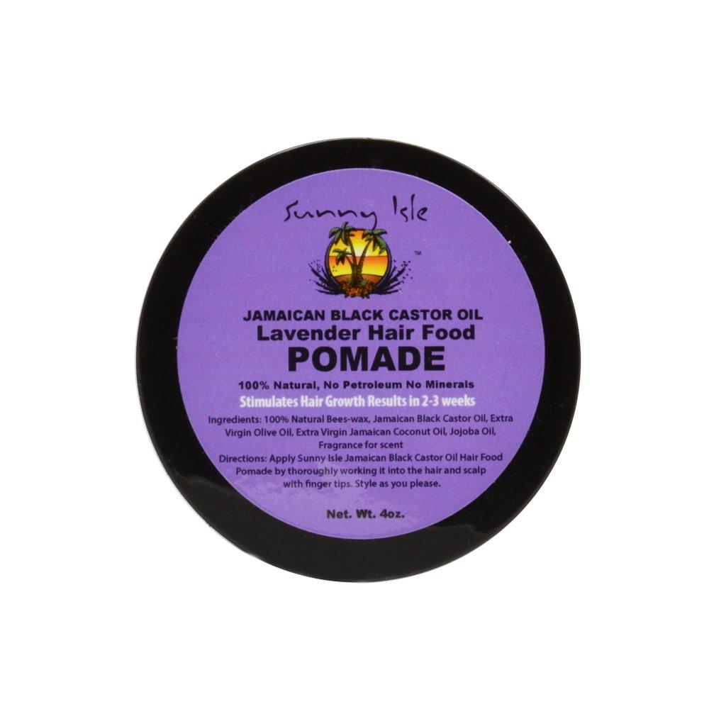 Sunny Isle 4-ounce Lavender Jamaican Black Castor Oil Hair Pomade