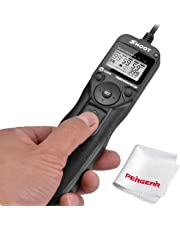 LCD Shutter Release Timer Remote Control Cable for Nikon D750 D600 D610 D7200 D7100 D7000 D90 D5000 D5100 D5200 D5300 D3100 D3200 D3100 D3300 D5500 P7700 P7800 DSLR Cameras