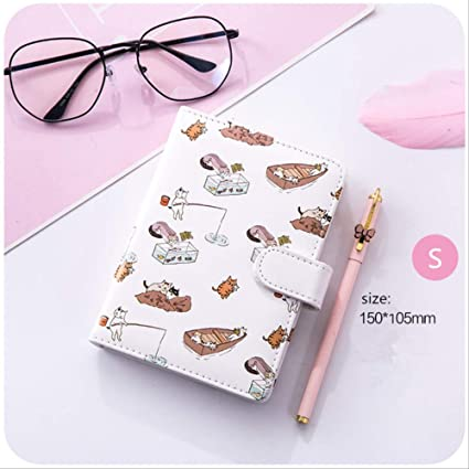 YNIME Cuaderno Kawaii Notebook Planer bullet journal ...