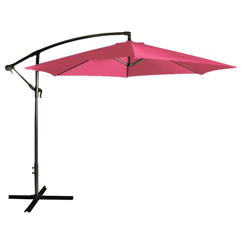 parasol deporté fushia