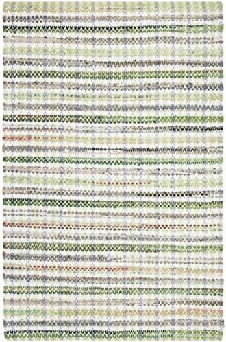 Safavieh Montauk Collection MTK950G Handmade Cotton Area Rug