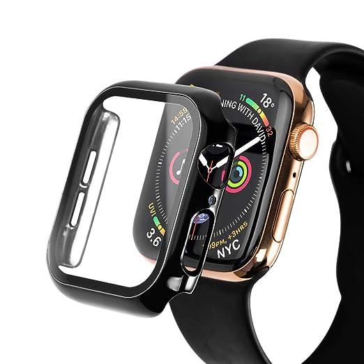 SLEO Funda para Apple Watch Series 5/Series 4 Carcasa ...