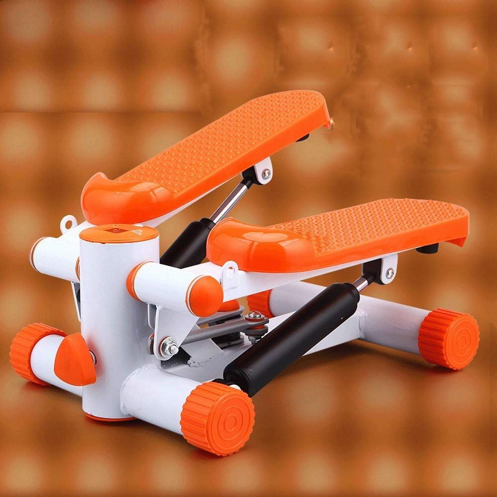 Steppers,Aerobic Fitness Exercise Machine,Mini Stepper Adjustable Air Stepper Twist Stepper with Hydraulic Resistance Fitness Exercise Machine (Color : Orange, Size : Casual Size) by Tabuji (Image #2)