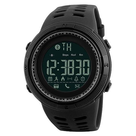 Izar Kuma Unisex Smart Watch zwart: Amazon.es: Relojes
