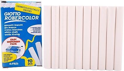 boite de 10 craies blanches pour tableaux noir fourniture de bureau